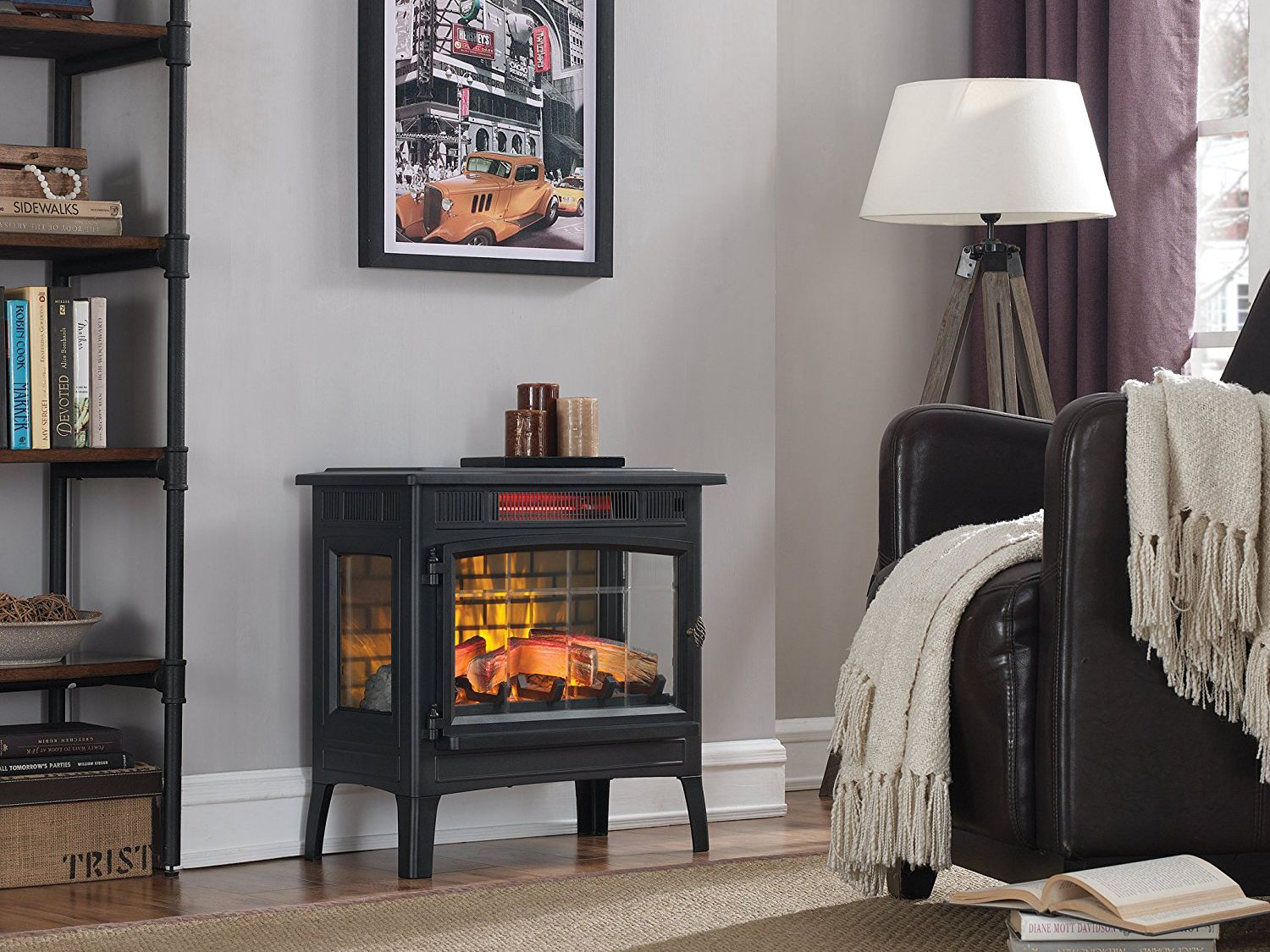 Phenomenal The 7 Best Electric Fireplace Heaters Of 2019 Download Free Architecture Designs Terchretrmadebymaigaardcom