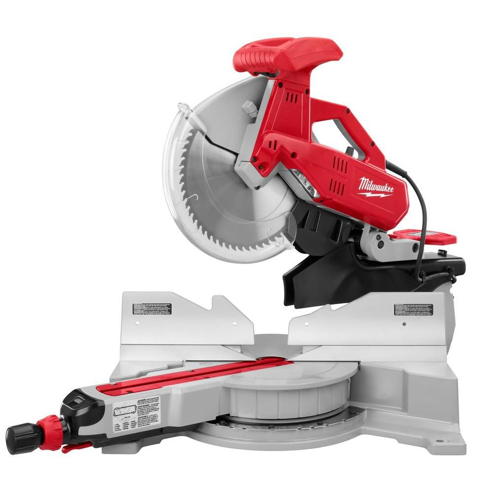 Best Miter Saw For Trim Baseboards Milwaukee 12 In Dual Bevel Sliding