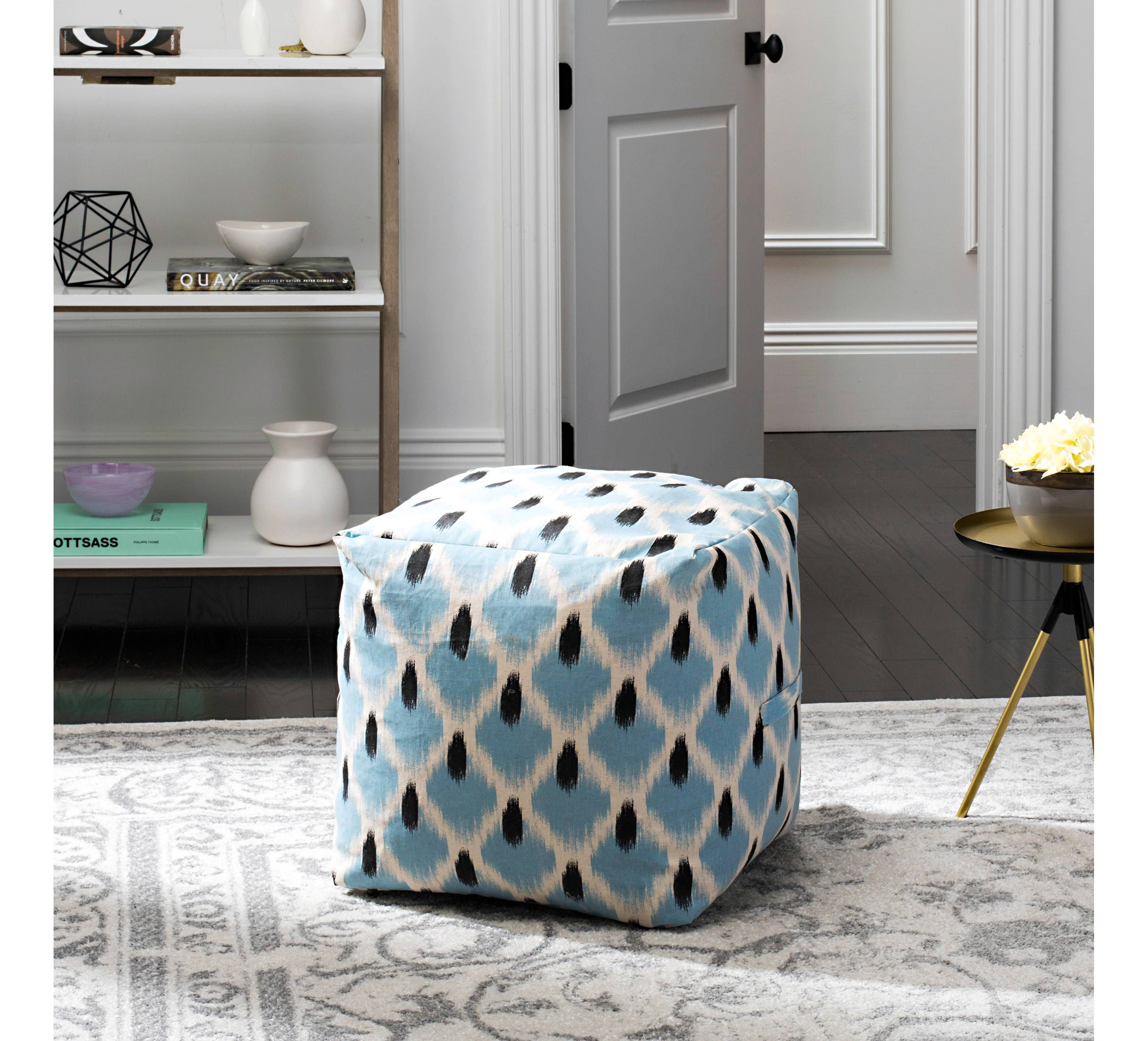 Admirable The 7 Best Poufs For Your Feet Or Seat Of 2019 Creativecarmelina Interior Chair Design Creativecarmelinacom