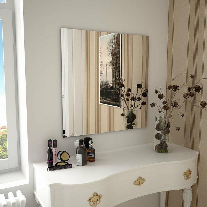 Ebern Designs Mormont Frameless Wall Mirror