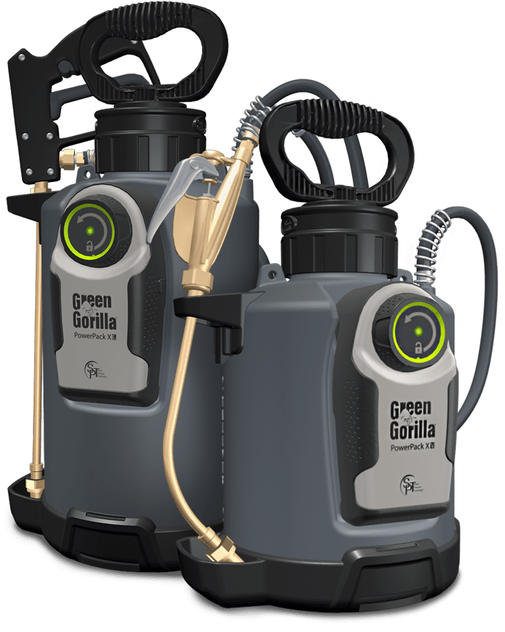 Green gorilla pressurized sprayer