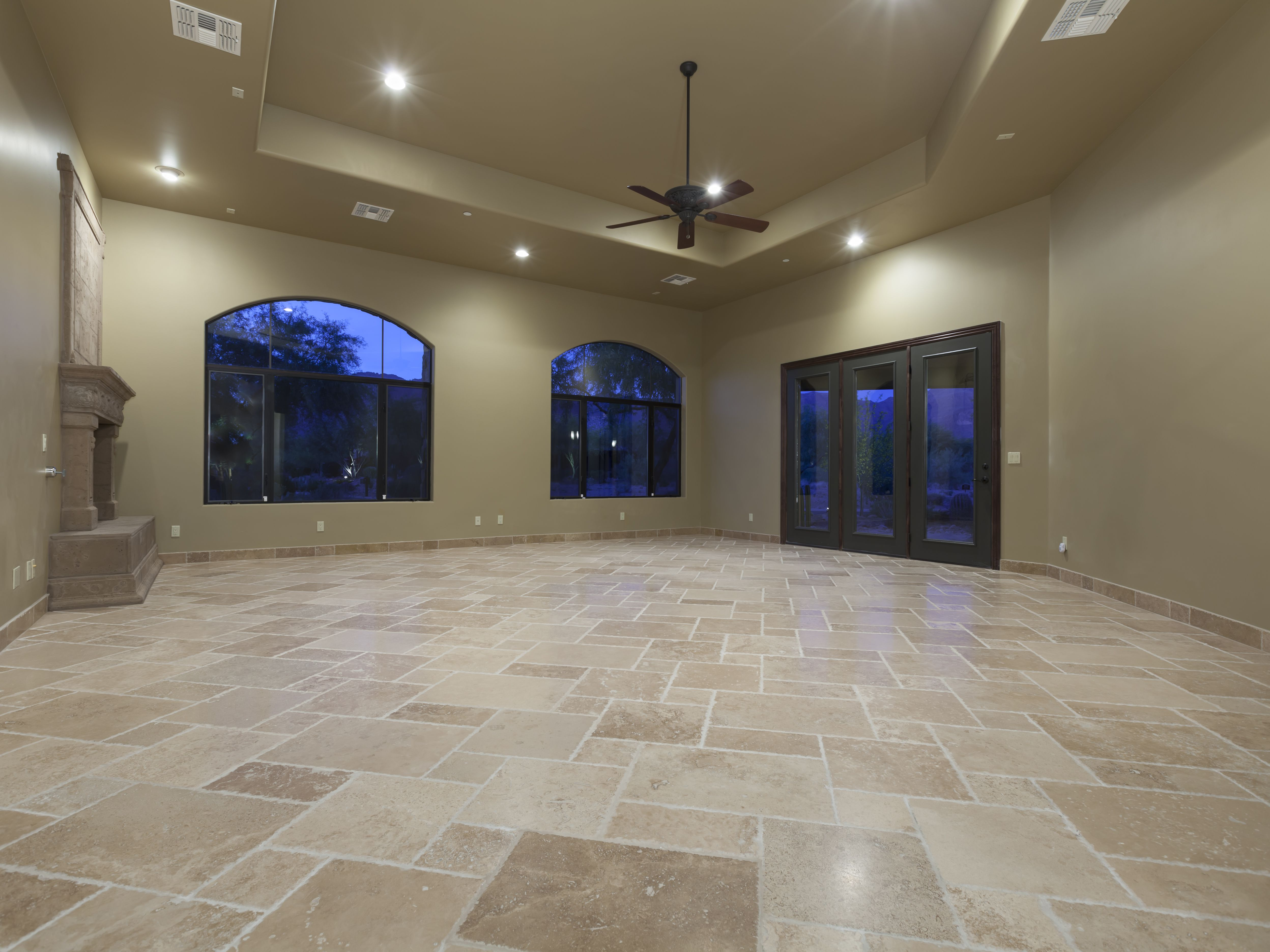 How To Clean Travertine Stone Flooring