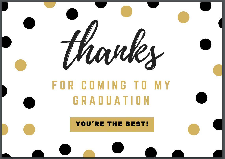 7 Free Printable Graduation Thank You Cards