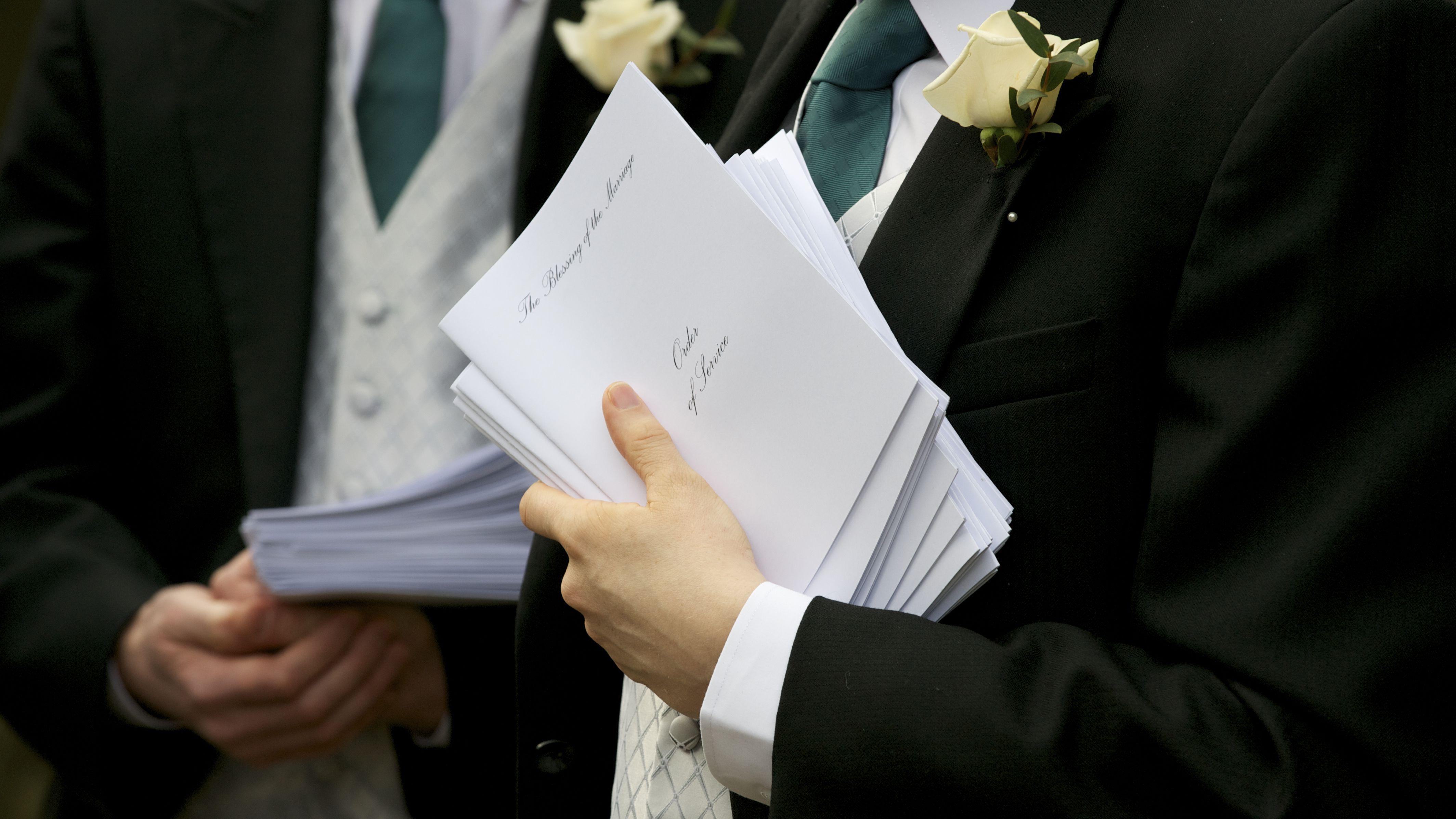 How To Create A Wedding Program