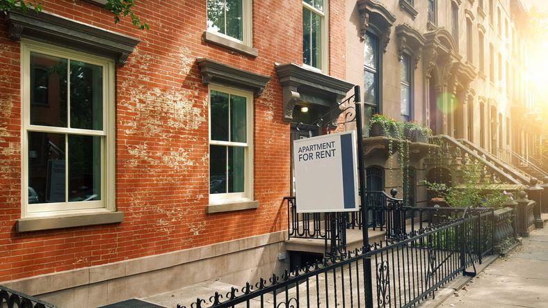 Apartment rental in Brooklyn townhouse, brownstones