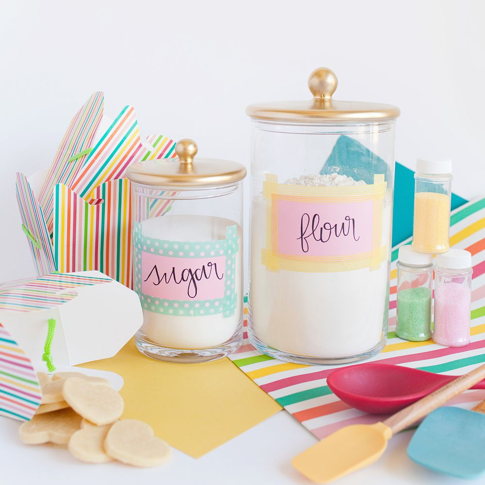 DIY Baking Jars
