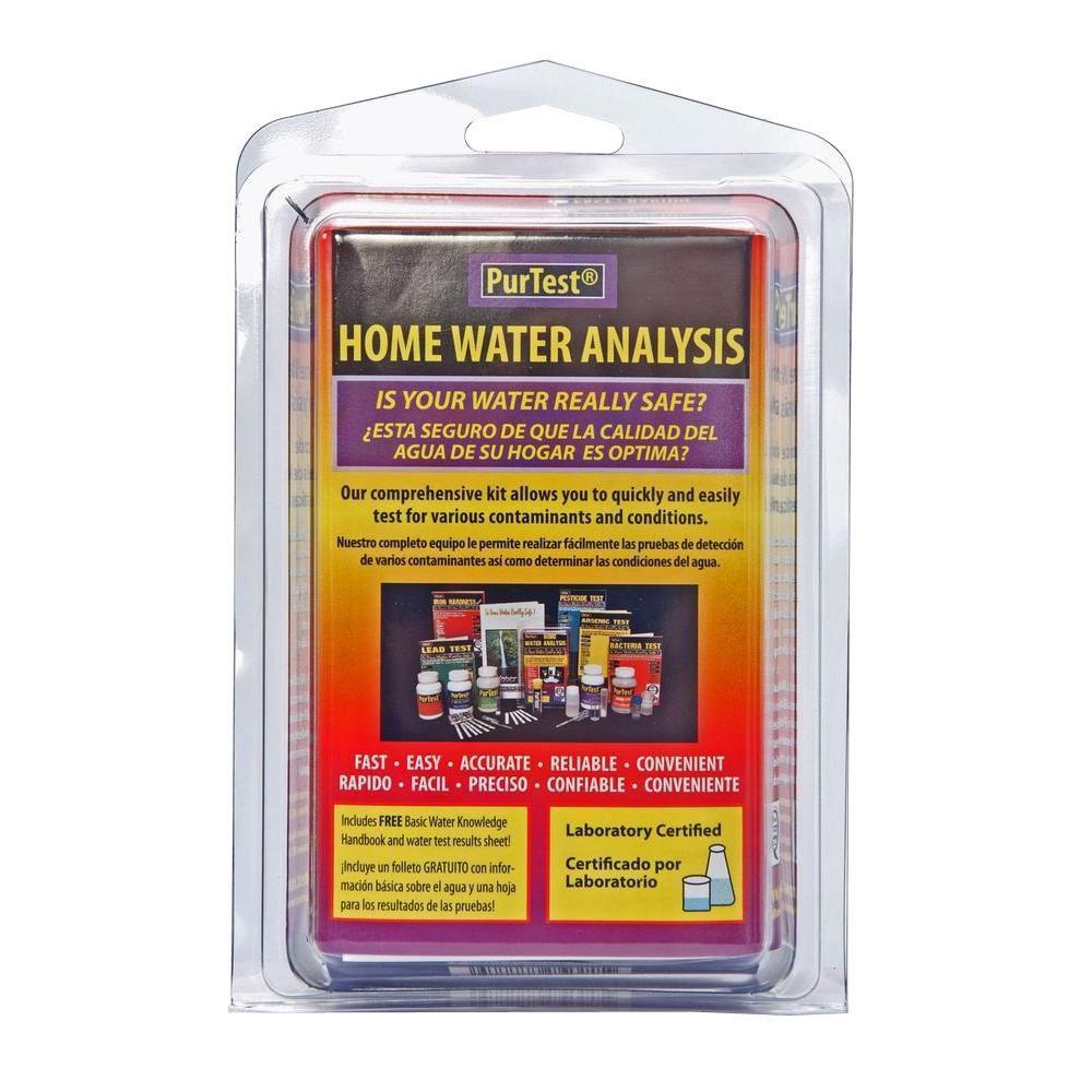 PurTest Home Water Analysis Kit