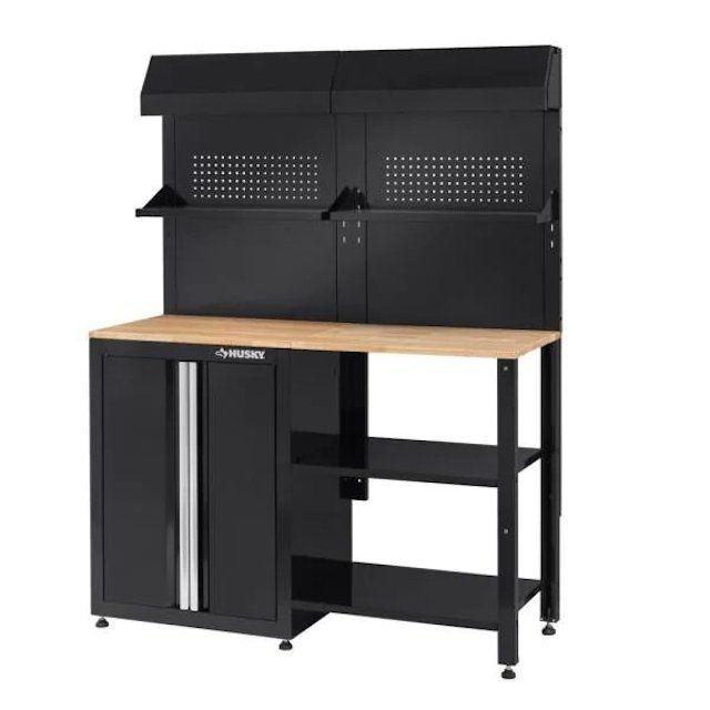 Husky Steel Garage Cabinet Set, 6-Piece