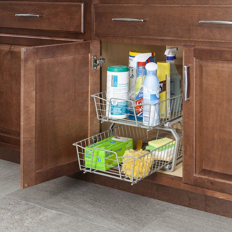 ClosetMaid 2 Tier Pull Out Drawer