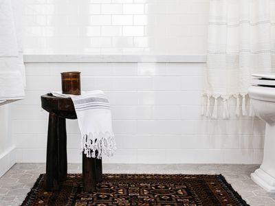 tiling in a bathroom
