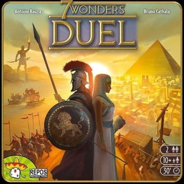 7 Wonders Duel box art