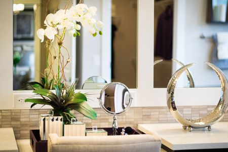 The Best Houseplants for Your Bathroom Peace Lily In Bathroom on aloe plant in bathroom, air plants in bathroom, prayer plant in bathroom,