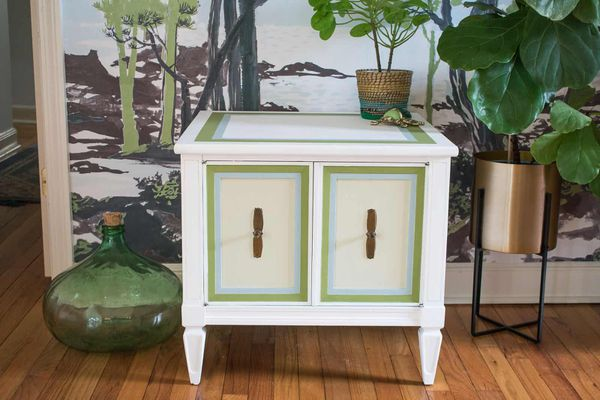chalk paint cabinet