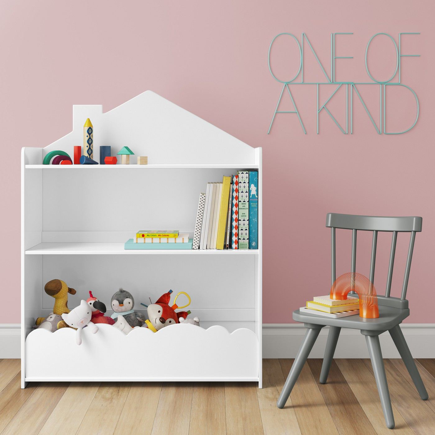 Children's bookcase from Target