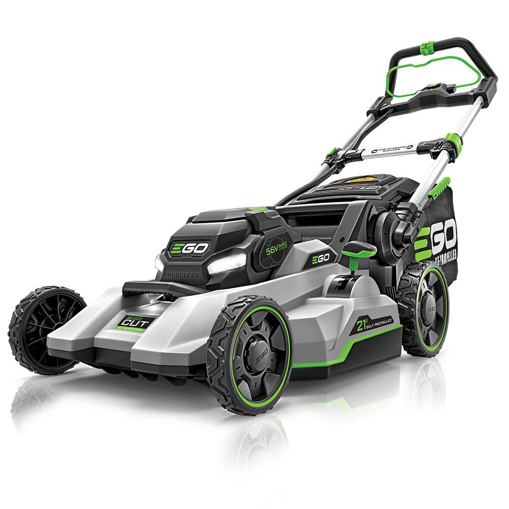 EGO 21 in. Select Cut 56V Lith-Ion Cordless Electric Self Propelled Mower