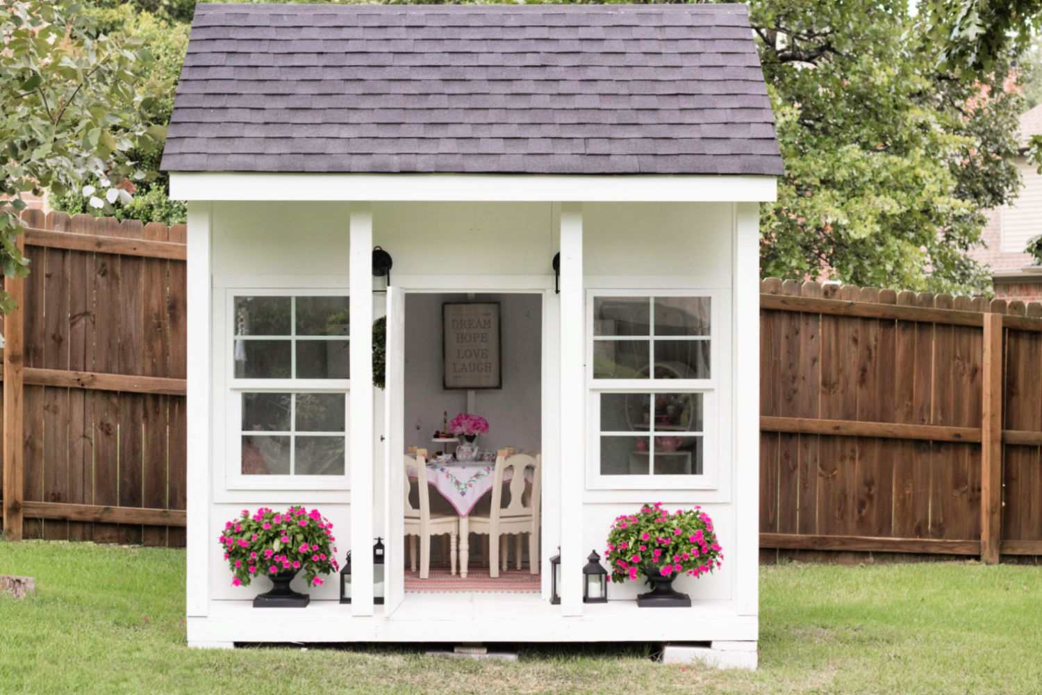Do It Yourself Home Design: 16 Free Backyard Playhouse Plans For Kids