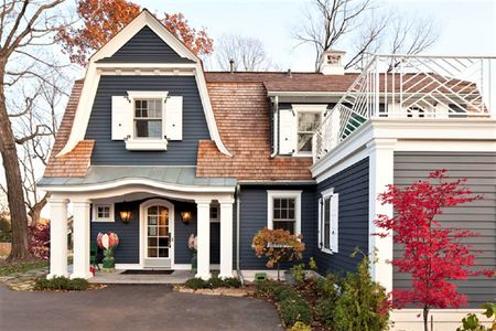 waterfront blues - Small House Exterior Paint Colors