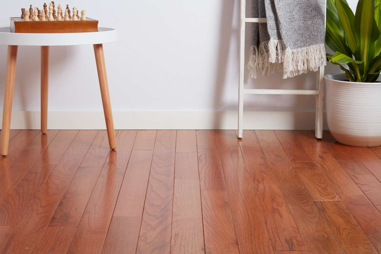 Living room hardwood floor