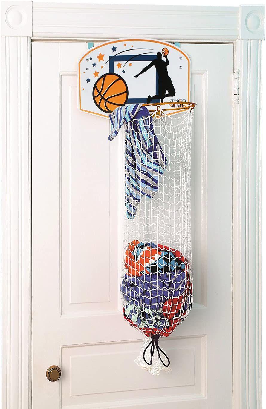 Taylor Toy Store Basketball Hoop Hamper