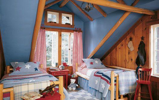 Blue kids' room