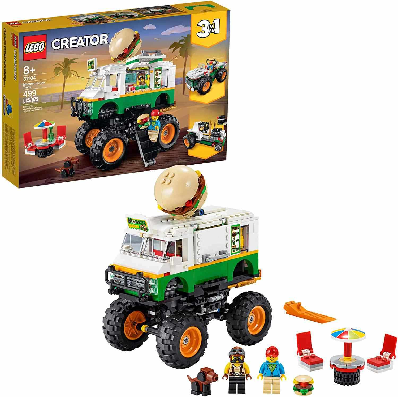 LEGO Creator 3-in-1 Monster Burger Truck
