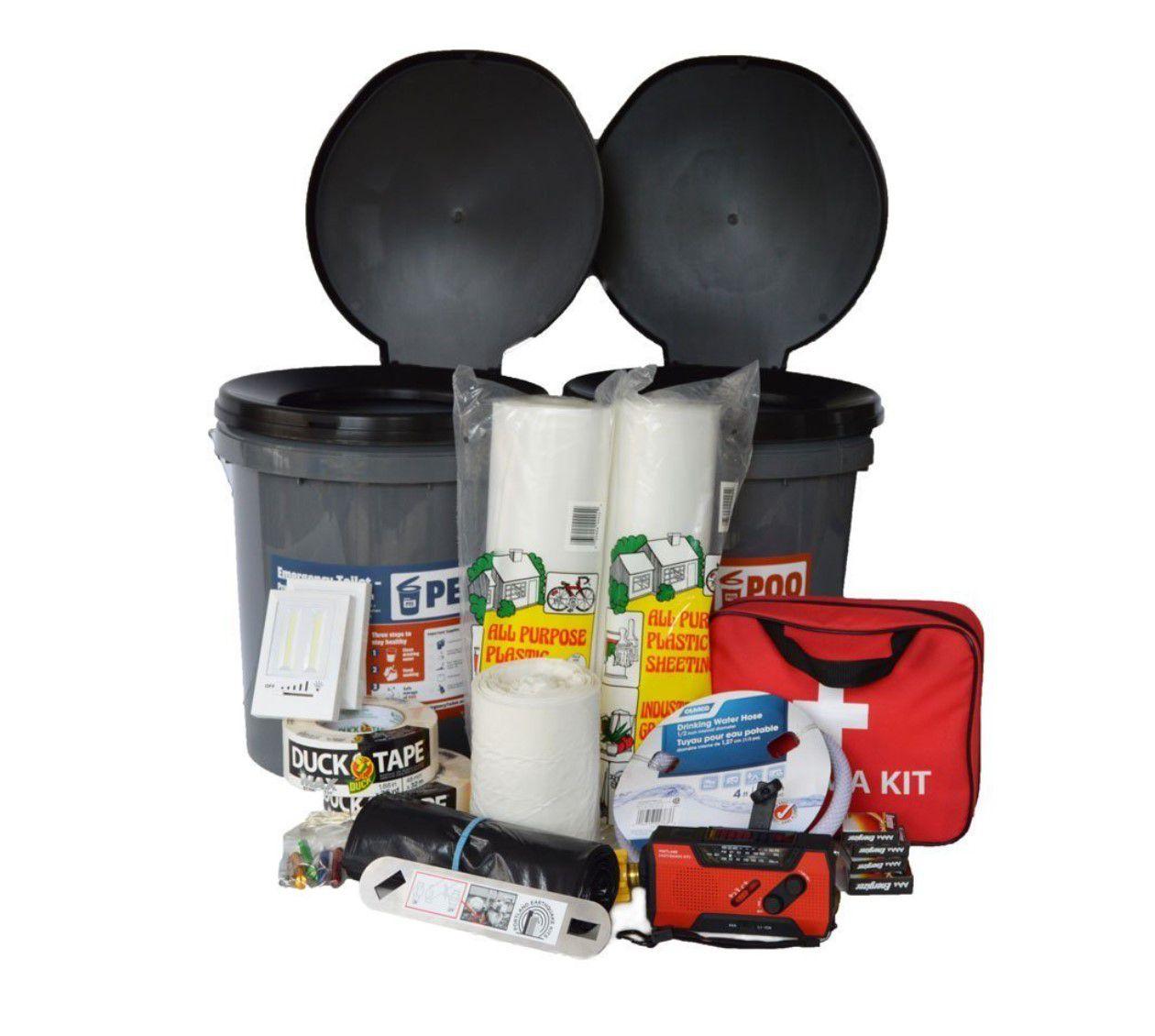 Portland Earthquake Kits Essentials Kit