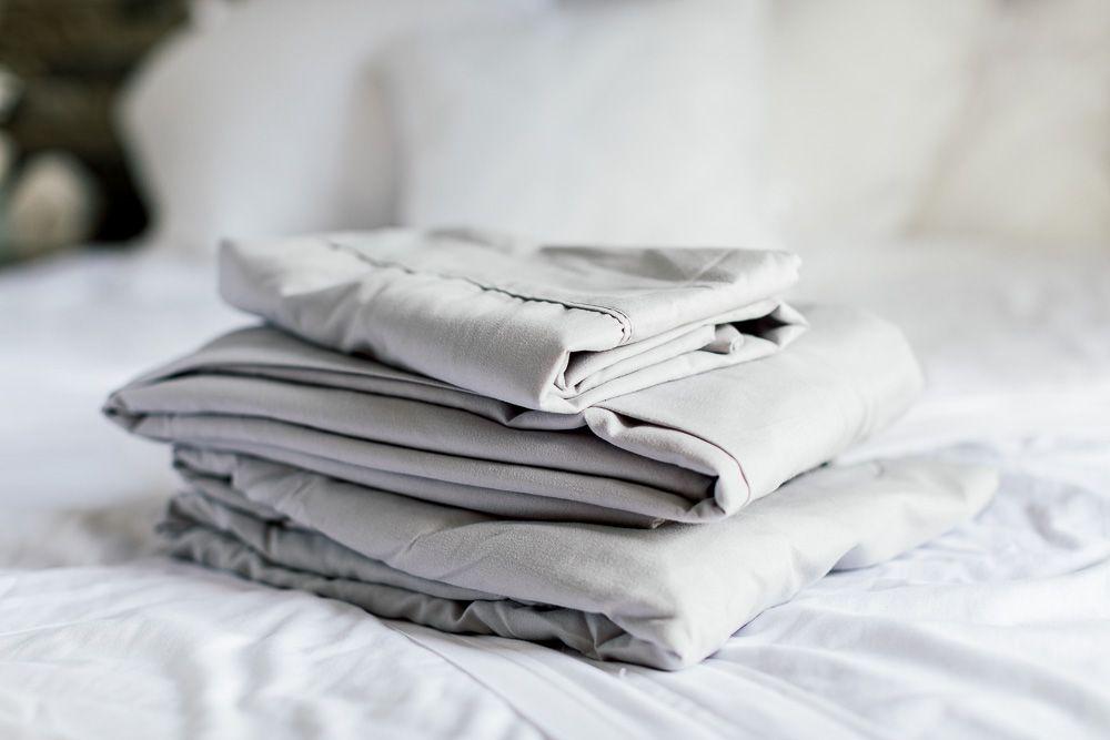 freshly folded sheets