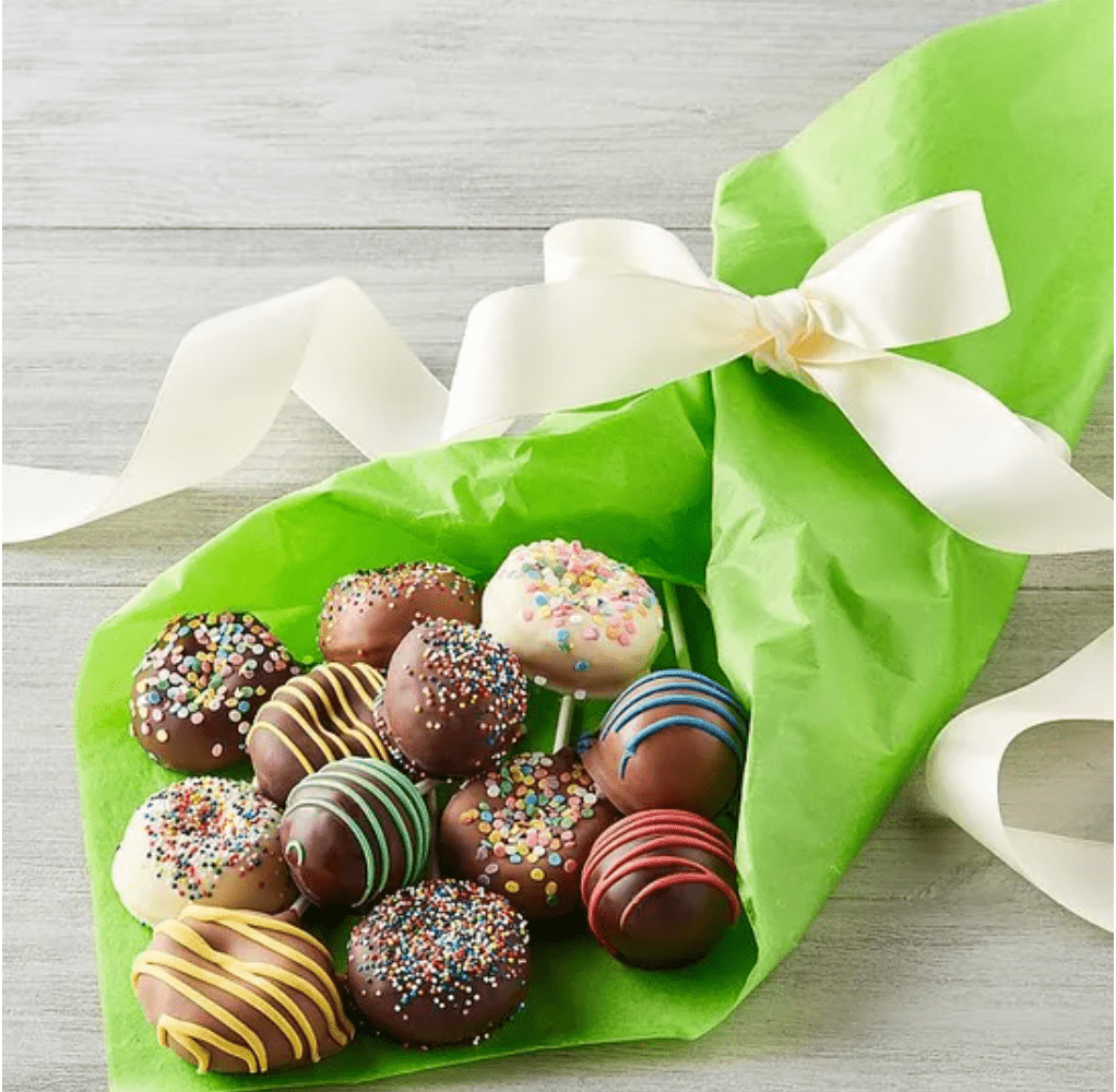Cake Pop and Donut Bouquet Gift Box