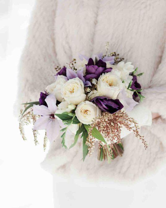 Ramo de boda de invierno Hellebore