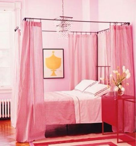 . 7 Pretty In Pink Bedrooms