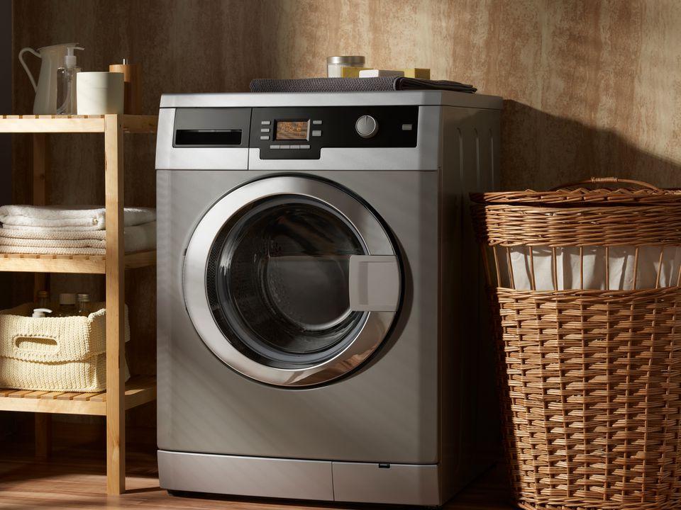 Lavadora en lavadero