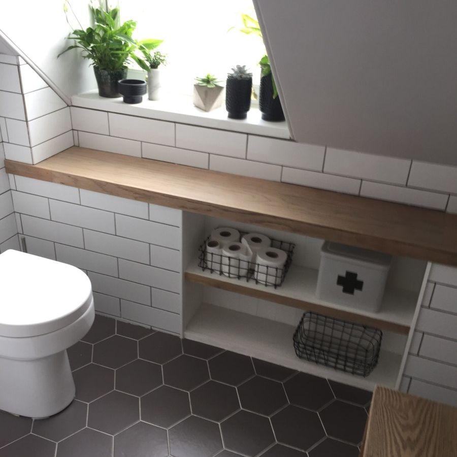 12 Small Bathroom Shelf Ideas