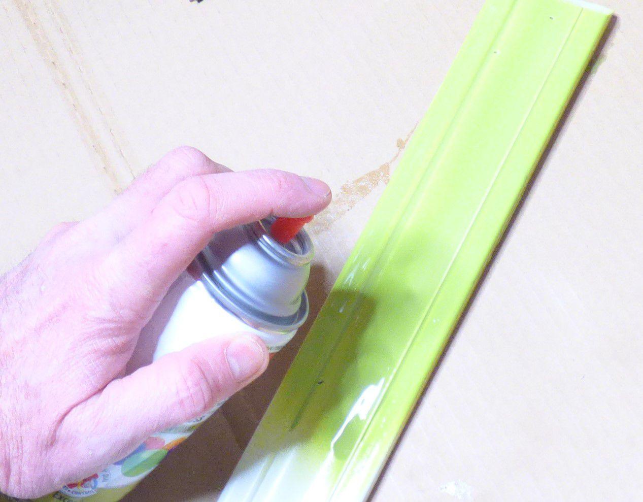 Paint Second Coat of Paint on Plastic
