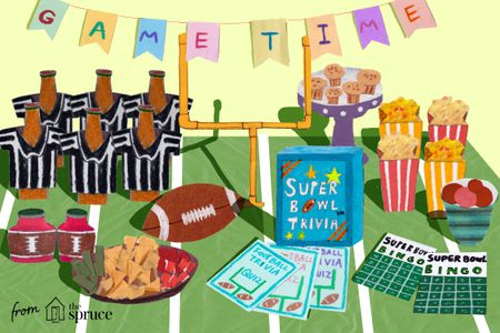Groovy 23 Super Bowl Party Games And Ideas Interior Design Ideas Helimdqseriescom