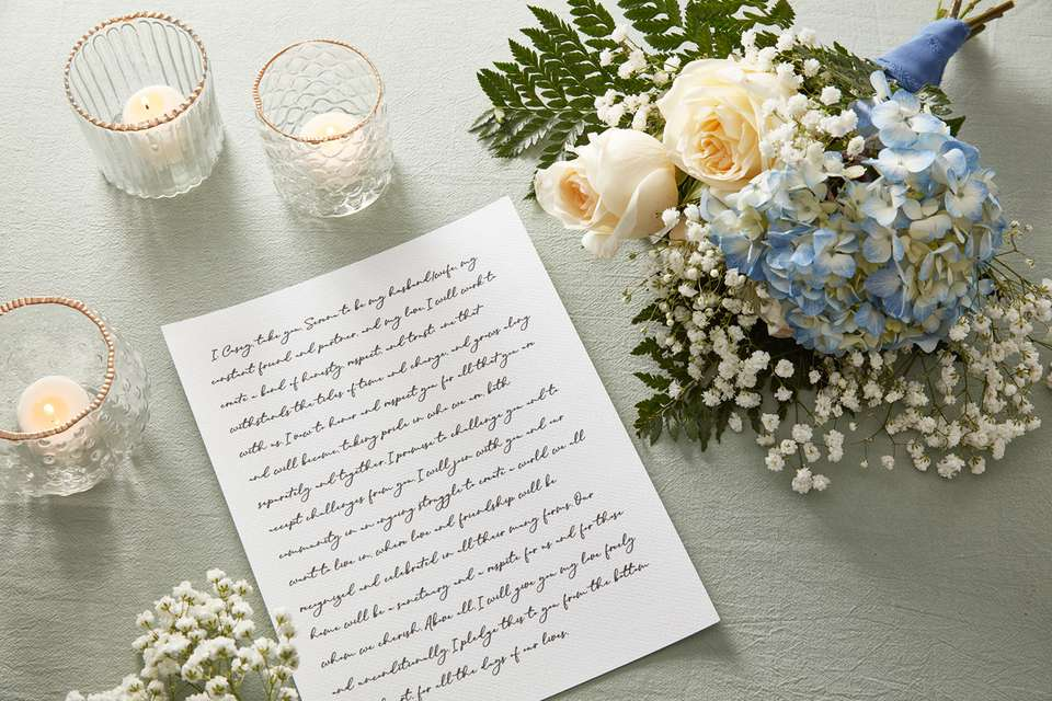 Secular wedding ceremony script sample