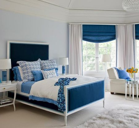 48 Stunning Blue Bedroom Ideas Unique Blue Bedrooms