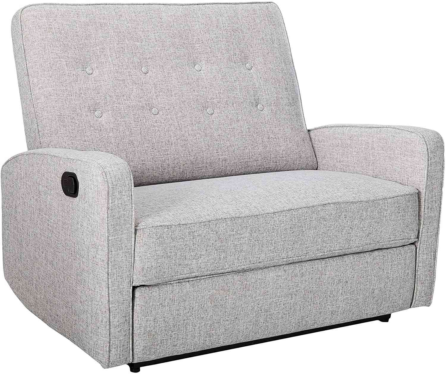 Christopher Knight Home Calliope Buttoned Fabric Recliner