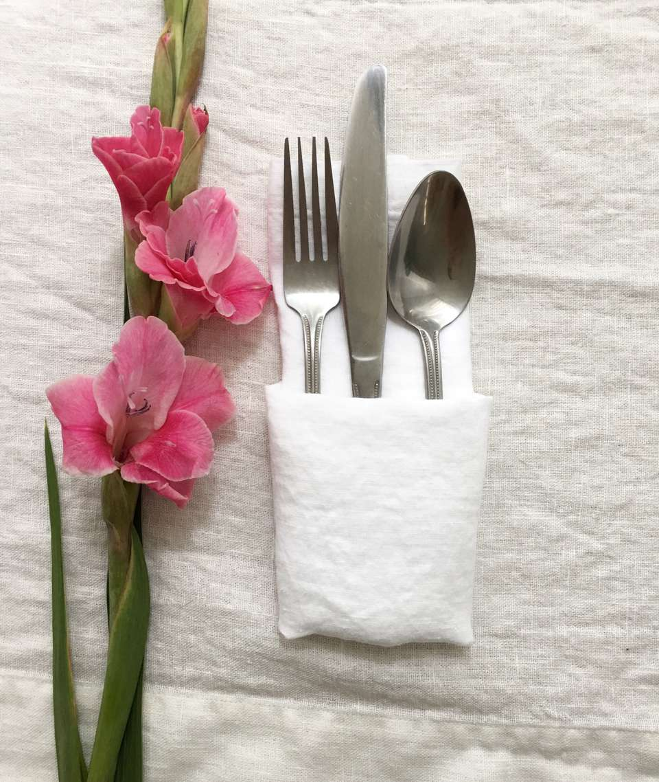 Pocket-Fold with Silverware