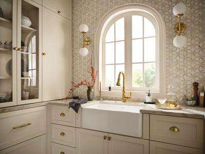 Kitchen sink by Moen