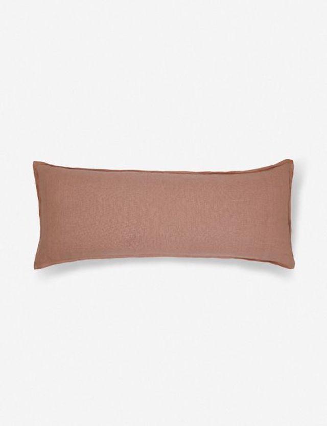 Lulu and Georgia Arlo Linen Long Lumbar Pillow