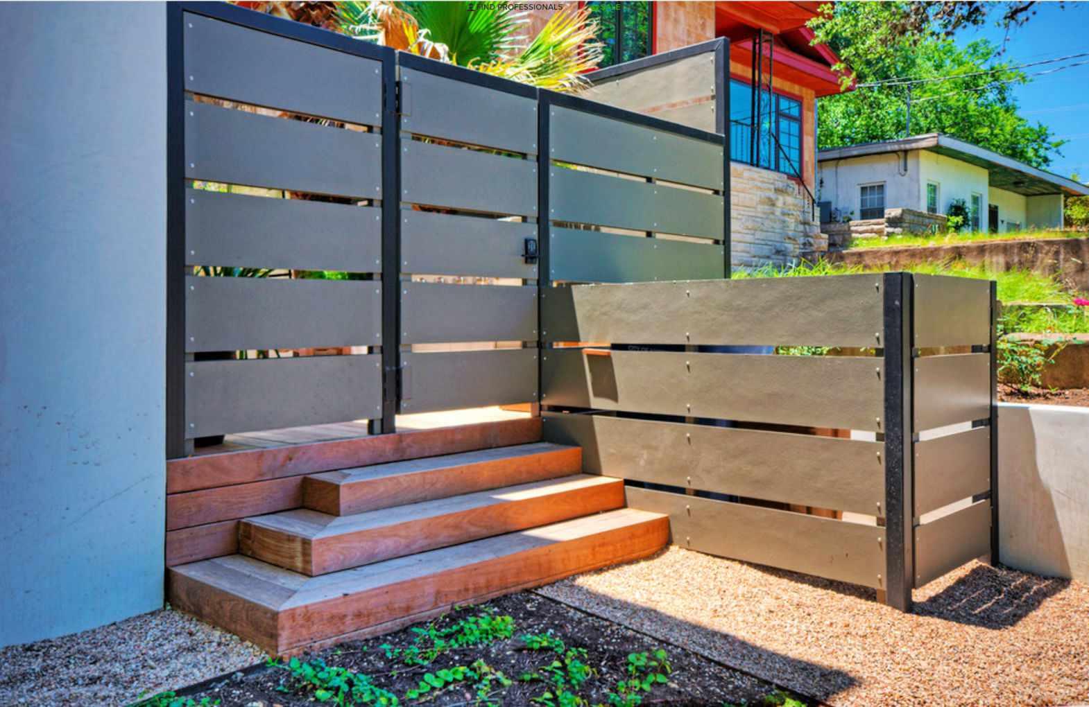 diseño de puerta de acero