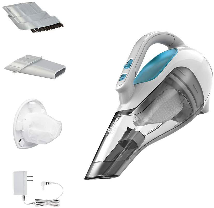 BLACK+DECKER dusbuster Handheld Vacuum, Cordless, Flexi Blue
