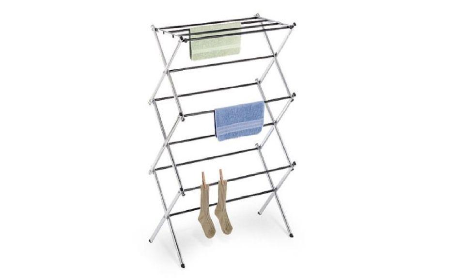 X wing folding rack