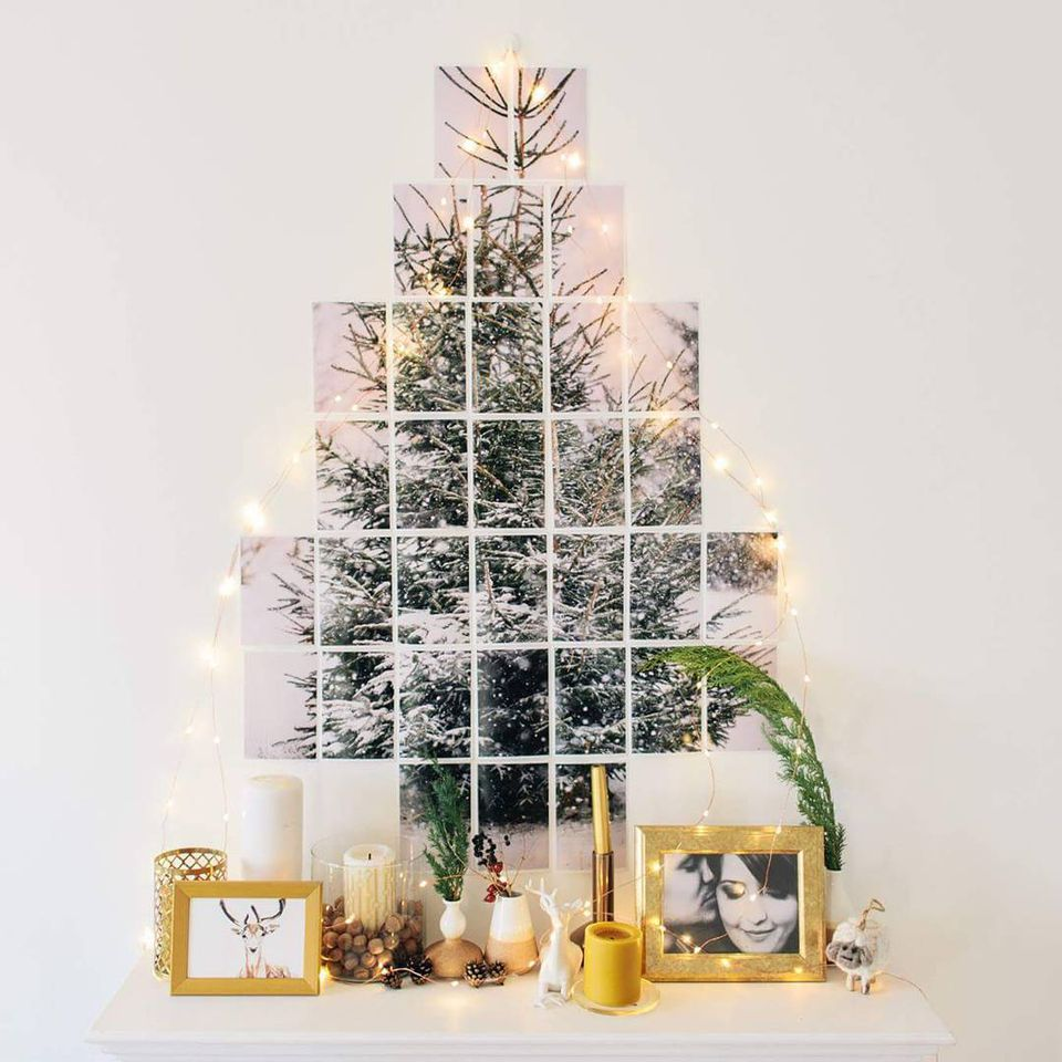 Christmas Tree Alternative.Christmas Tree Alternatives For Christmas And The Holiday Season
