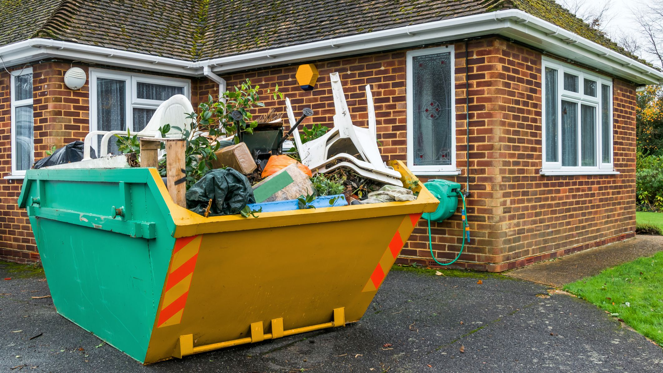 How to Rent a Dumpster or Container for Remodel Debris