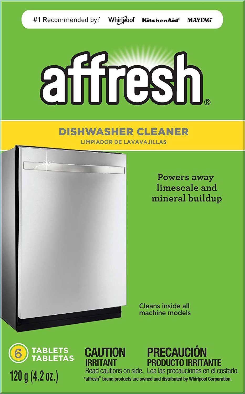 Affresh Dishwasher Cleaner, 6 Tablet