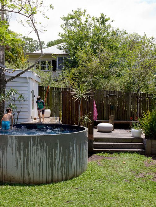 piscina redonda pequeña
