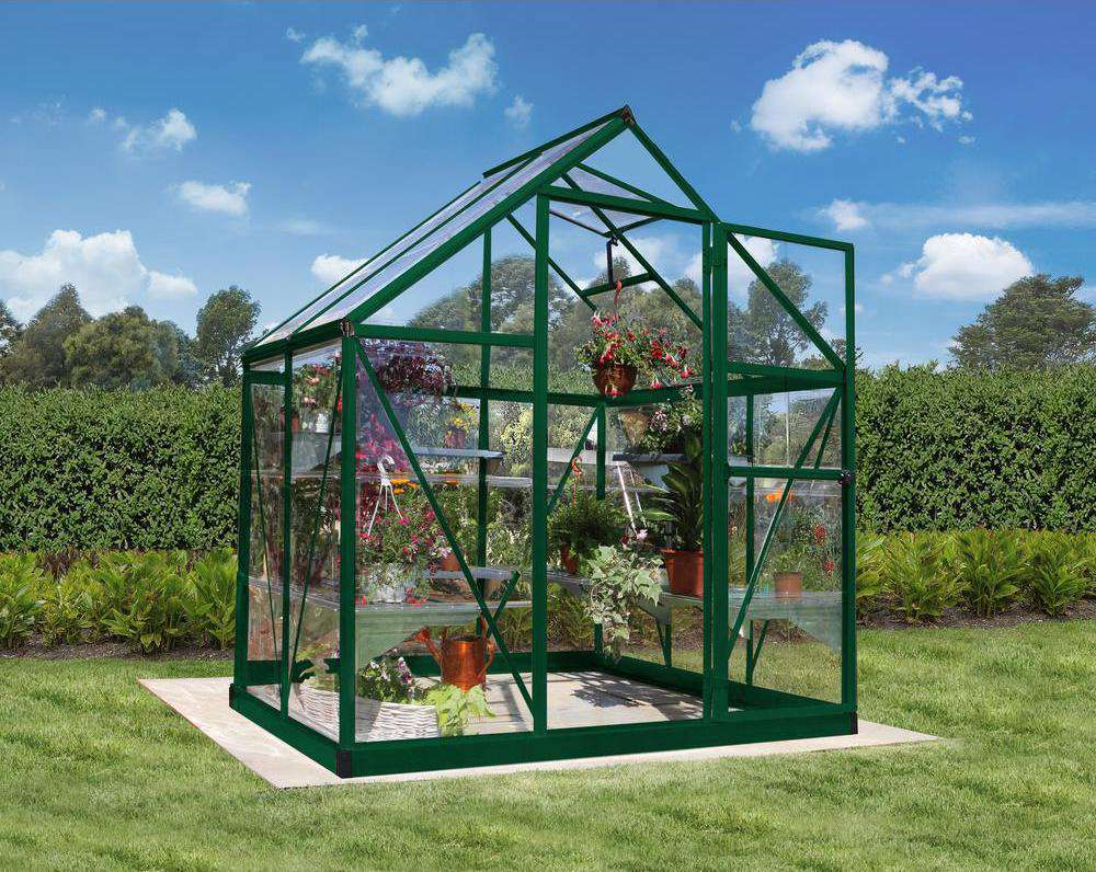 Palram Harmony 6 x 4 ft. Polycarbonate Greenhouse