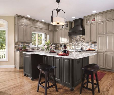 Inspiring Gray Kitchen Design Ideas - Grey kitchen cabinets ideas