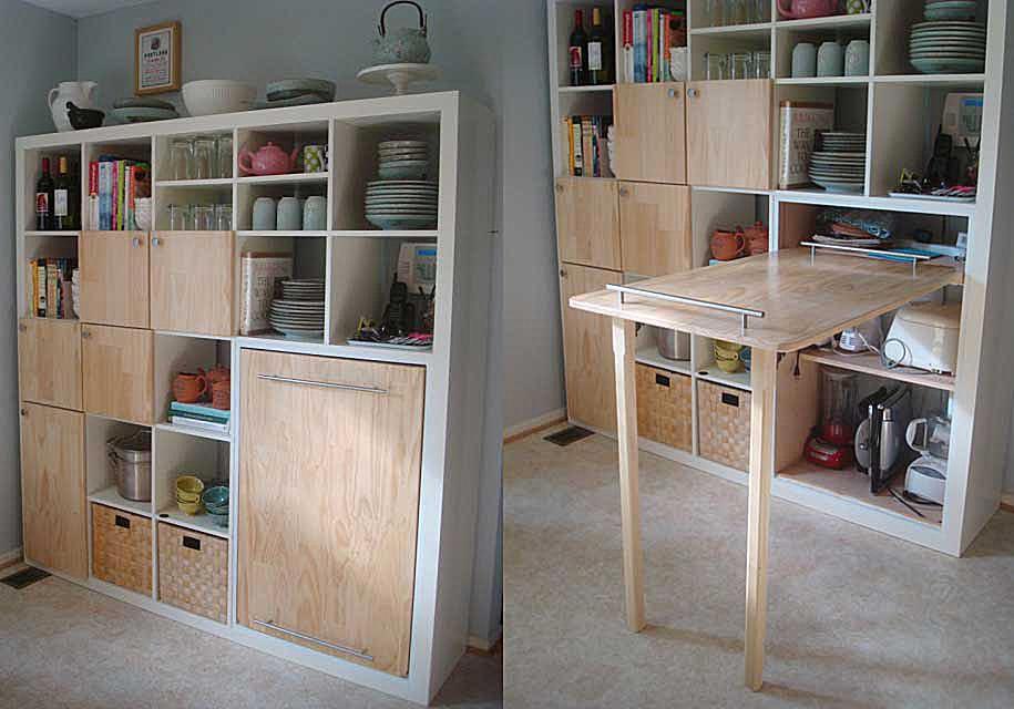 IKEA Hackers Kitchen Storage